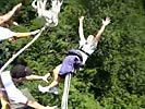 Bungee jump prank. Haha, you thought you were gonna die!