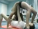 Unbelievably flexible hottie gives an amazing blowjob!