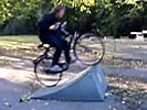 Predictable bicycle faceplant.