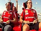 It doesn't get any faster than this Ferrari roller coaster.