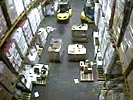Forklift accident brings down whole warehouse.