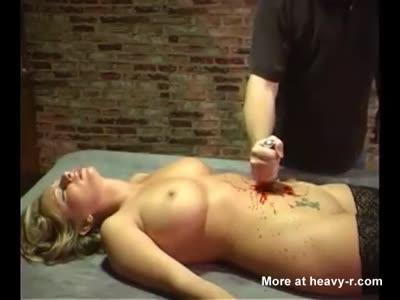 Look erotic belly stab please!!!
