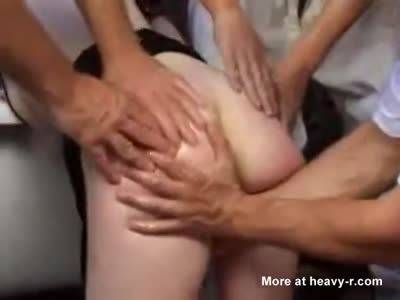 Think, extreme rough oral anal gangbang