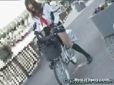 Bizzare bike dildo will know