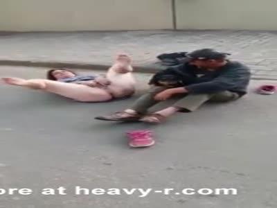 Women sexy homeless