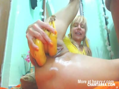 Extreme Anal Fruits And Vegetables Insertions - Anal Videos