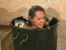 Teen humiliated and thrown in the trash.
